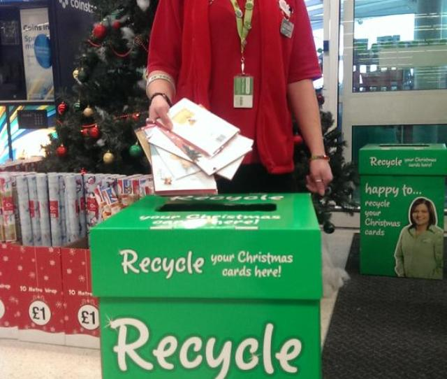 Asda On Twitter Were Collecting Christmas Cards In Store For Recycling In Partnership With Salvationarmyuk Https T Co Ylzkmmn