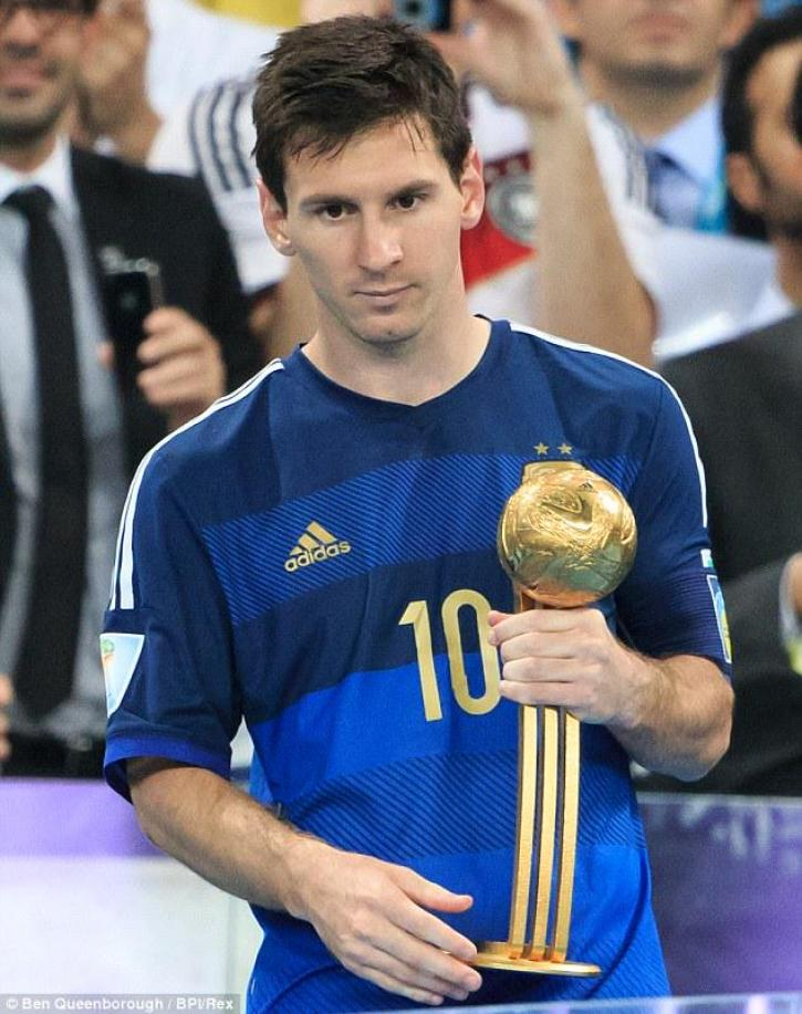 Image result for messi best player in world cup 2014
