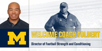 Michigan Football: Strength Coach Kevin Tolbert Reportedly Fired