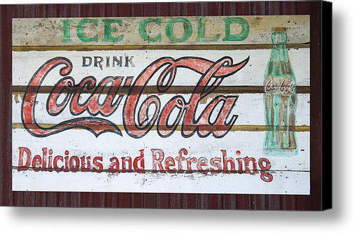 Antique CocaCola Sign