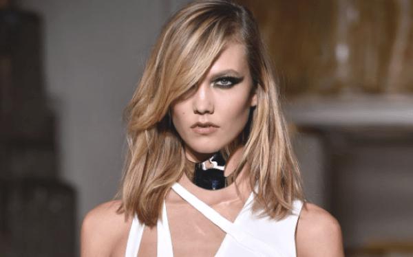 Victoria's secret model suffers nip slip: karlie kloss ...
