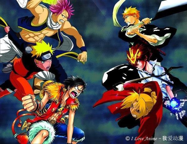 Time to settle the debate! Raymond Luis On Twitter Natsu Naruto Luffy Vs Edward Tsuna Ichigo Who Wins Animeheroes Http T Co W7mmbcxq It