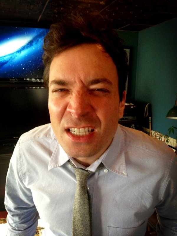 """jimmy fallon on Twitter: """".@FLOTUS Here's my game face ..."""