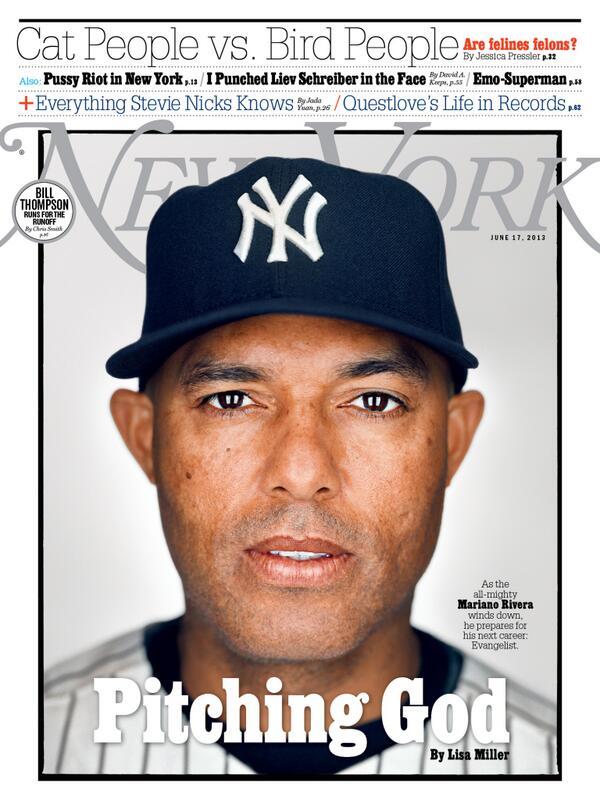 New York Magazine: Pitching God, Mariano Rivera