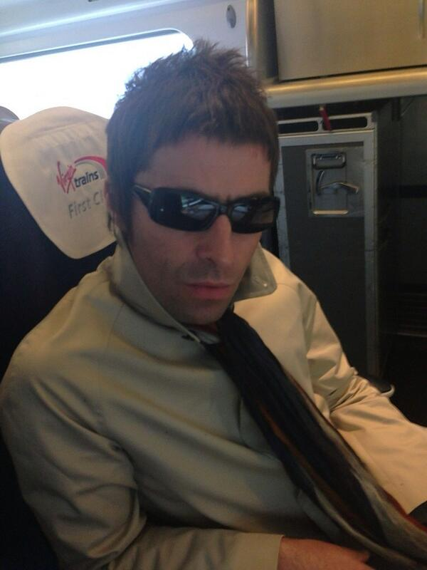 Liam Gallagher On Twitter On My Way To MCR Centre Of The