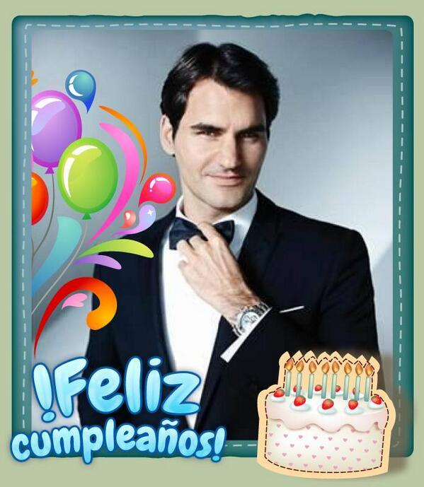 Roger federer cumpleaños de MIrka