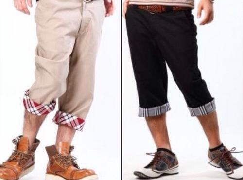 「裏地 チェック ズボン」の画像検索結果