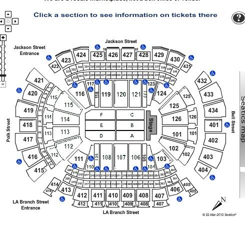 Susquehanna Bank Center Seating Chart With Seat Numbers