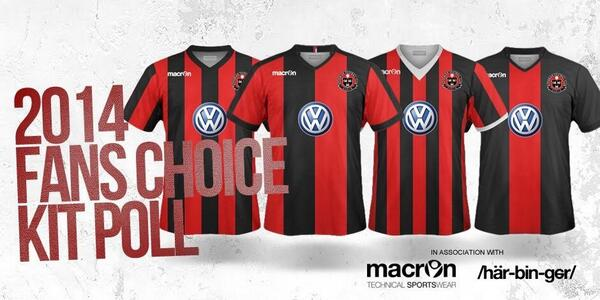Help pick the 2014 Bohs home kit - Back Page Football 2bc1fc1d2