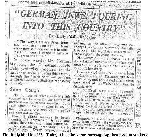 Image result for daily mail jews