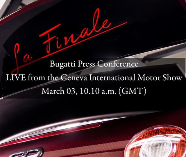 Bugatti On Twitter Only H Until The Live Stream Of Our Gvamotorshow Press Conference Starts Watch It Live T Co Bgmxgjs