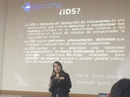 Primeros pasos con Snort IDS y Acid - Maria Fernanda Almonacid