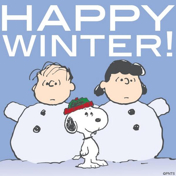 Image result for Snoopy and winter