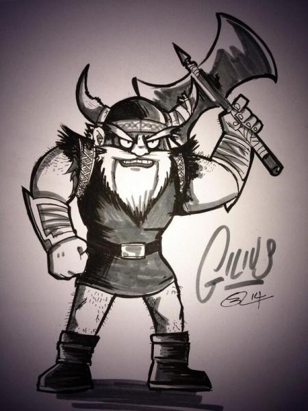 Gilius the Dwarf by Steve J Gregson