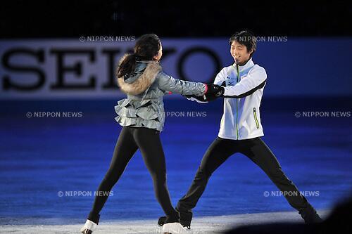 test ツイッターメディア - 羽生結弦&浅田真央 2012年GPS・NHK杯で優勝した二人のEXのペアの練習 https://t.co/4TS25s5Arp