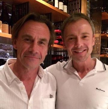 Michael Marshall and John Simm