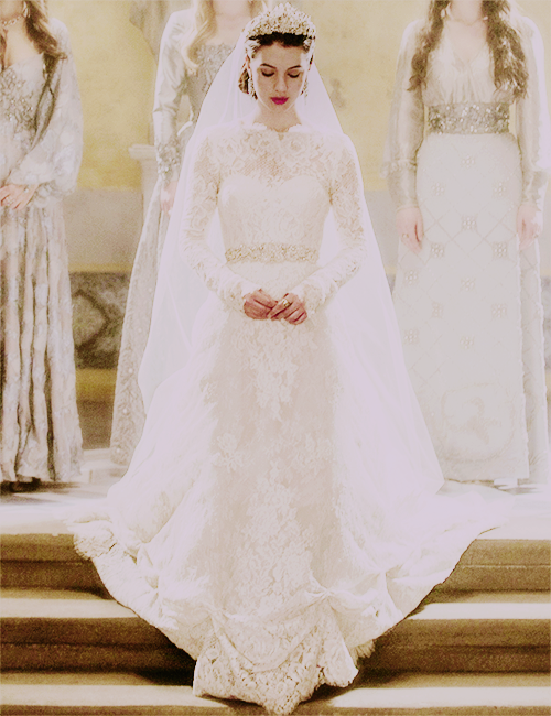 Reign Marys Wedding Dress