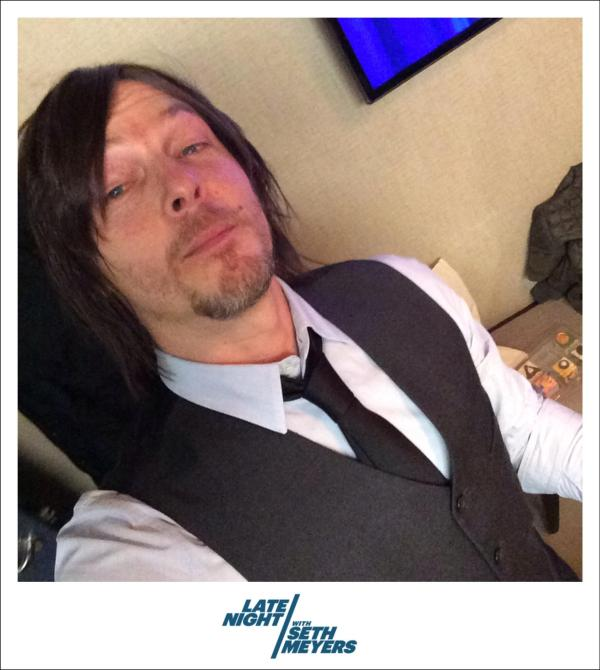 "Late Night with Seth Meyers on Twitter: ""Norman Reedus ..."