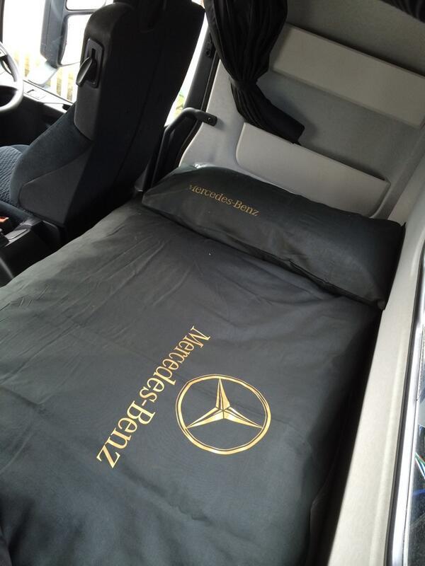 Dan Lane On Twitter New Bedding In The Truck Mercedestruckuk Mercedesbenz Arocs Dalrod Trucking Http T Co 6hesntrt9o