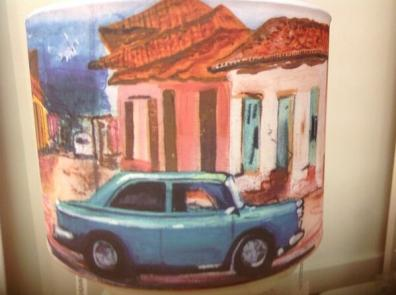 Hammond Cuban Car Lampshade at Nadine Rose