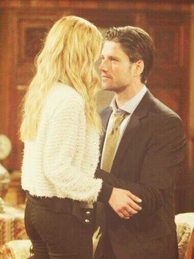 Kate Mansi And James Scott