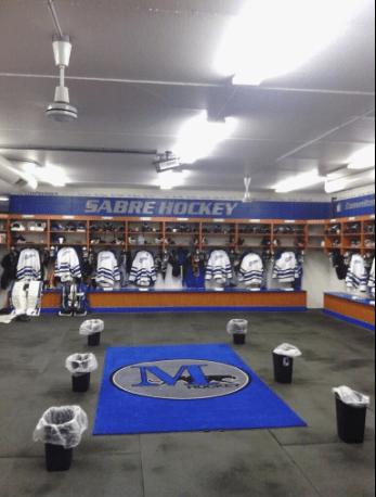 """Hockey Locker Rooms on Twitter: """"Marian University (NCAA ..."""