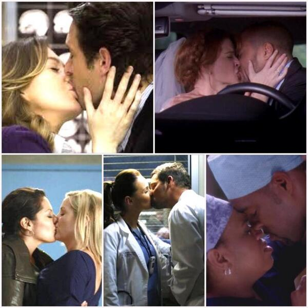 """Greys Anatomy on Twitter: """"A kiss is more than just a kiss ..."""