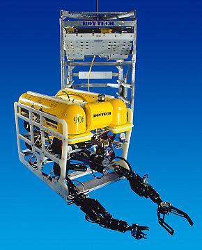 test ツイッターメディア - パンサープラス(Panther Plus)。イギリスに拠点を置くSAAB Seaeye Ltd.によるROV(遠隔操縦無人機)の一つ。艦艇などに搭載されて潜水艦のサルベージなどに対応するとのこと。重量は凡そ500kg。 https://t.co/FS8SVh7UEB