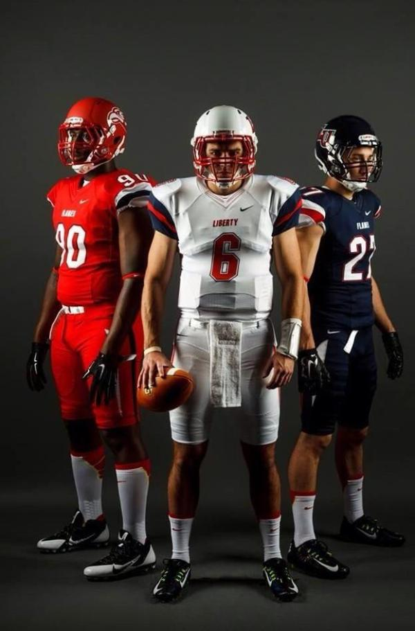 """Liberty Football 🔥 on Twitter: """"Our 2014 uniforms were ..."""
