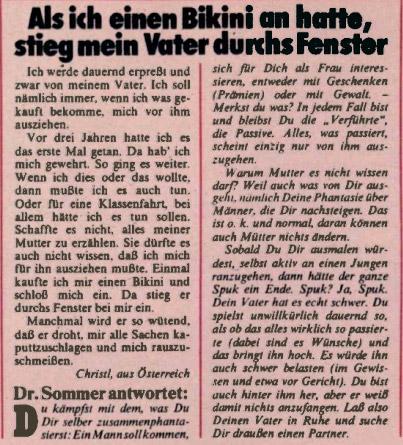 Dümmste Fragen An Dr Sommer