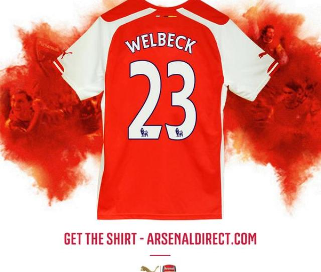 Photo Arsenal Confirm Danny Welbecks New Shirt Number Arsenal Station Arsenal Fc News