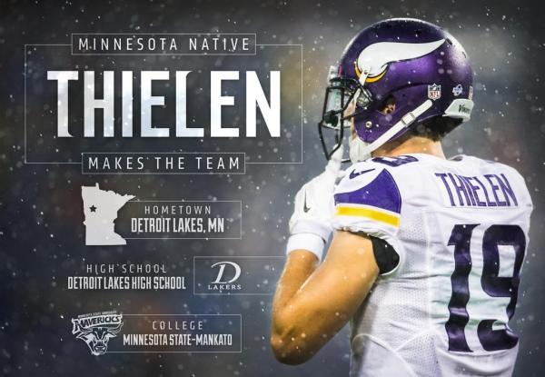 """Minnesota Vikings on Twitter: """"Minnesota native Adam ..."""