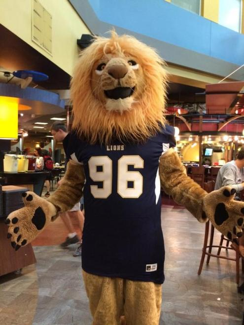 Image result for roscoe the lion