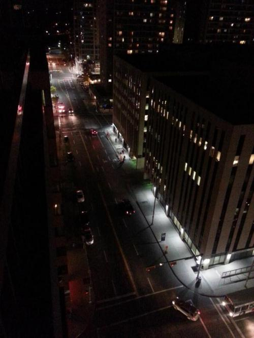 Blackout traffic