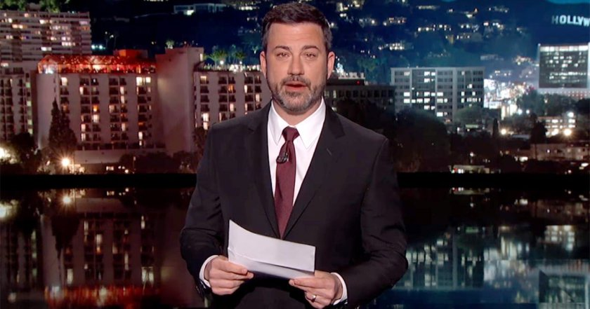 See Jimmy Kimmel's tearful monologue after his newborn son's heart surgery