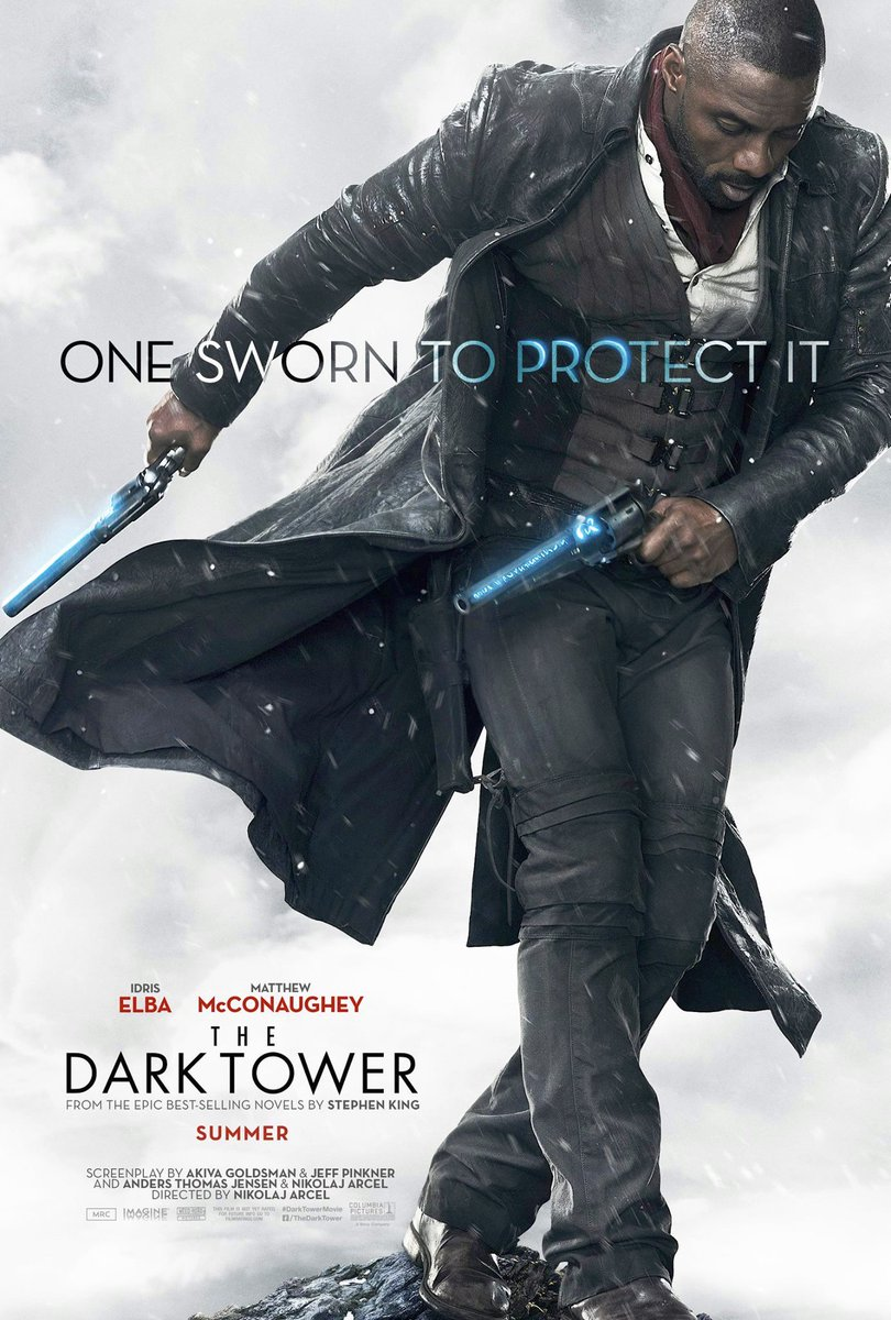 The Dark Tower Posters Featuring Idris Elba & Matthew McConaughey