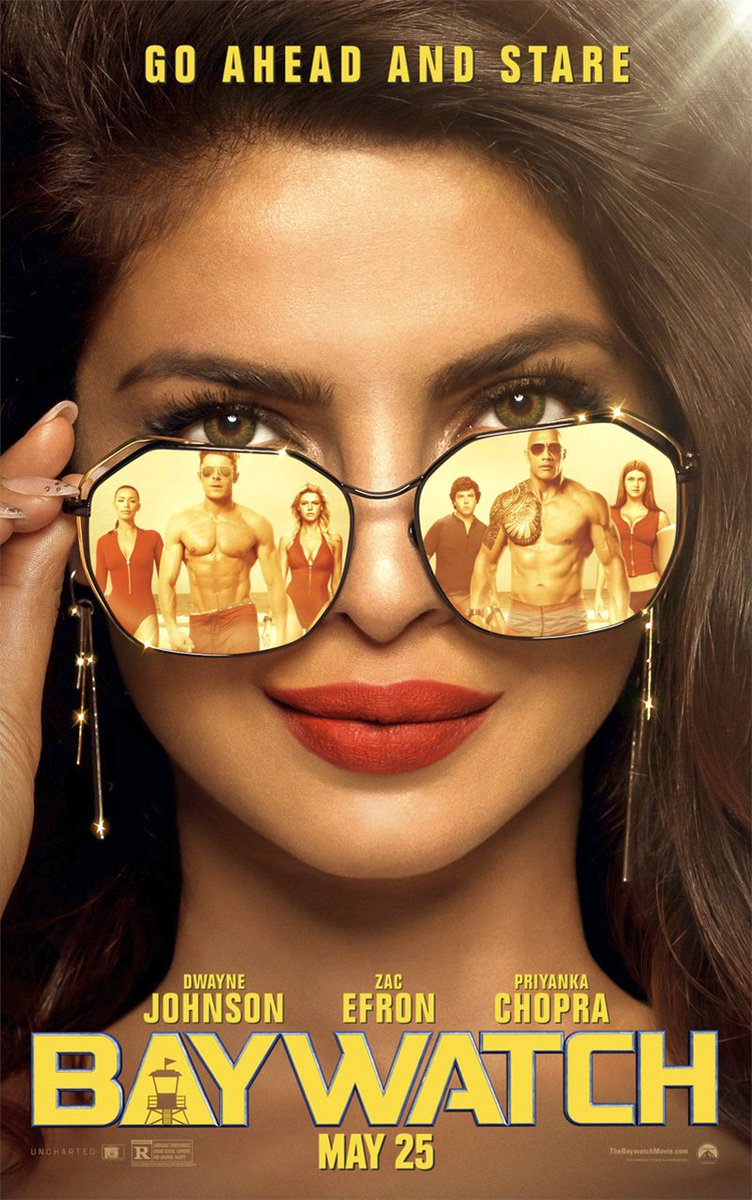 New Baywatch Posters Unveiled