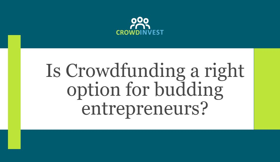 Understand how #crowdfunding works for budding #entrepreneurs  #startup #bigdata #tech