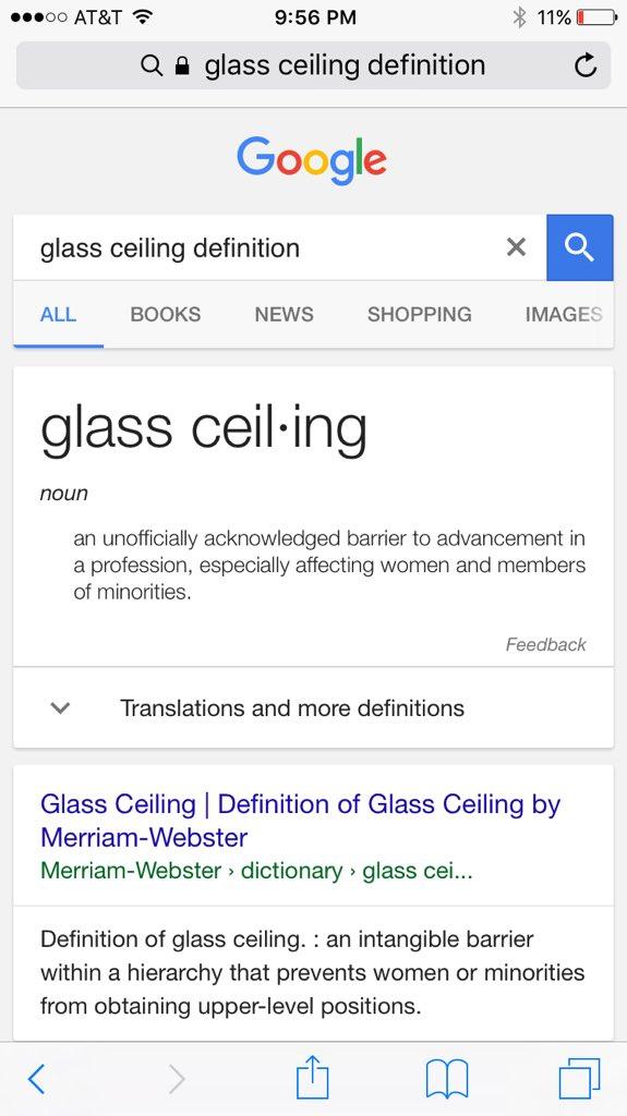 Hit Glass Ceiling Definition Www Gradschoolfairs Com