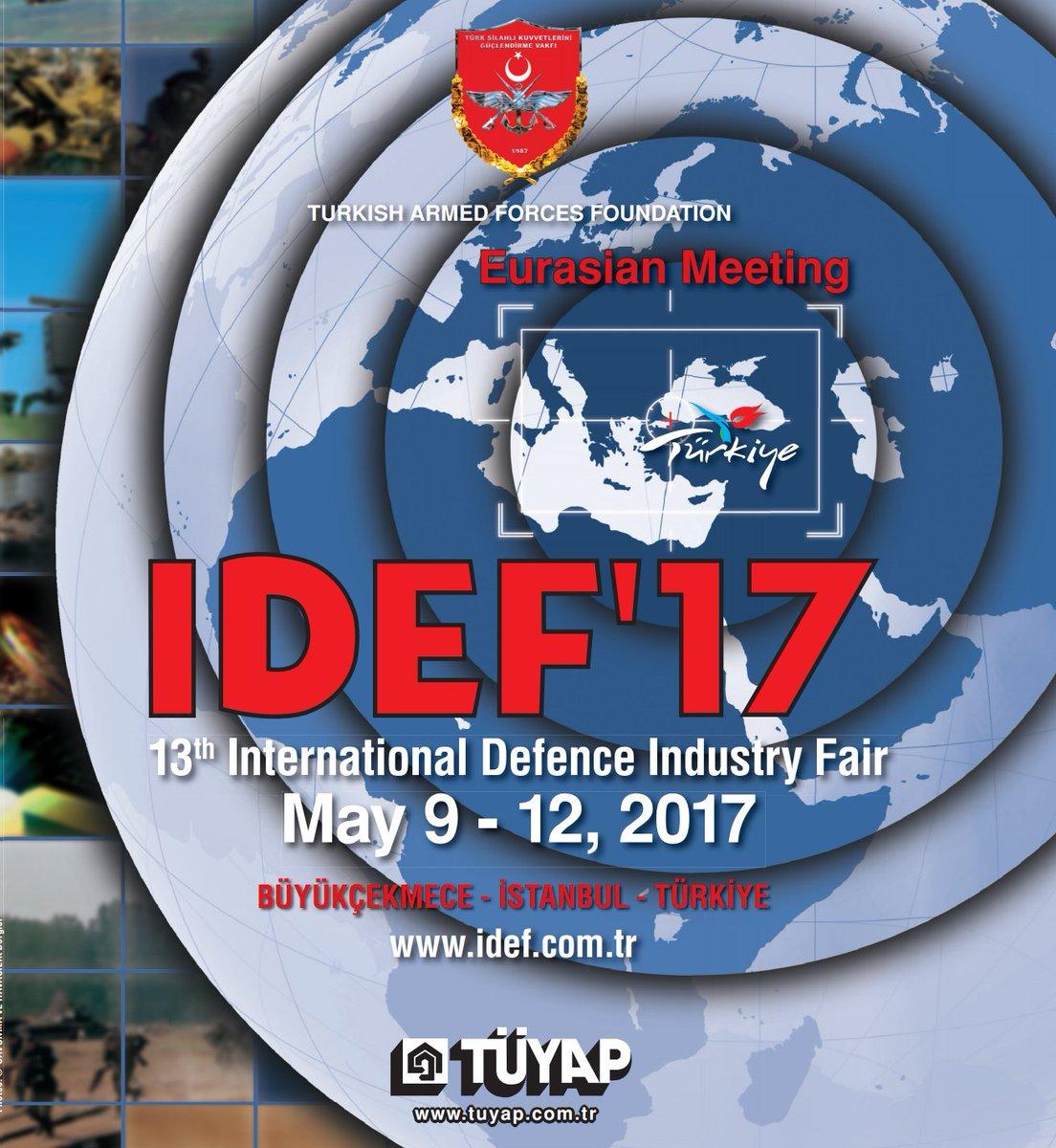 Международная выставка вооружений IDEF-2017 открылась вТурции