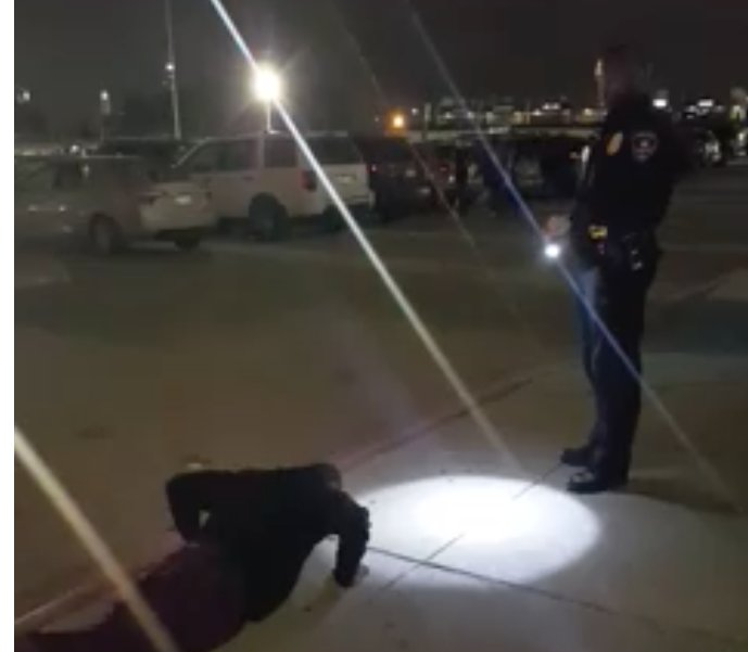 Cop gives teen the option of being cited for marijuana possession or doing 200 pushups