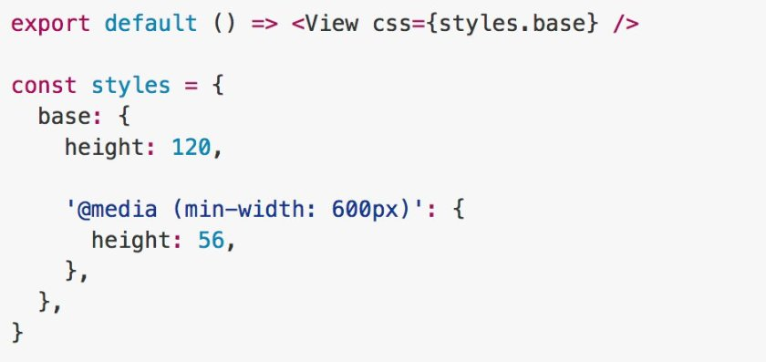 Uranium: CSS-in-js media queries for React Native and React by @TuckerConnelly