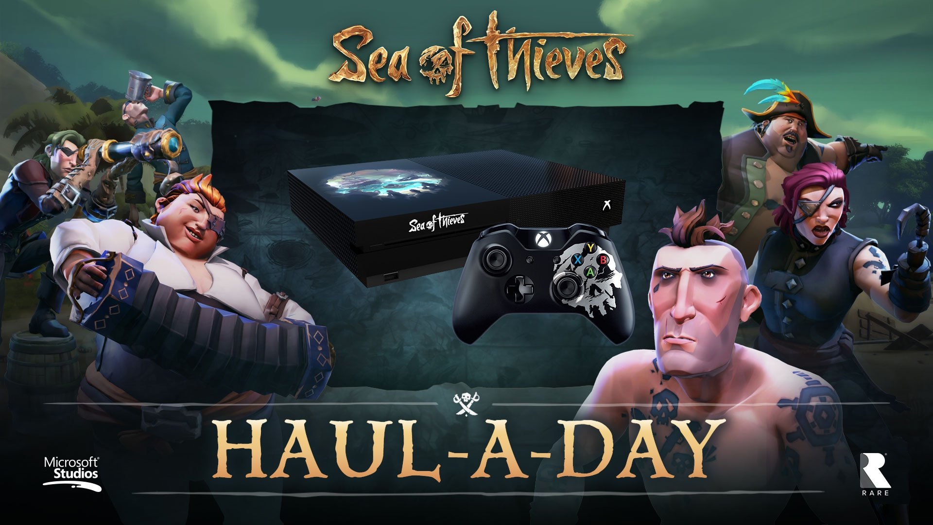Sea Of Thieves On Twitter Win A Custom SeaOfThieves