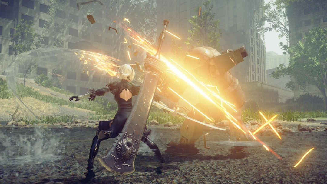 NieR: Automata – Iconic Crossover Weapons Trailer