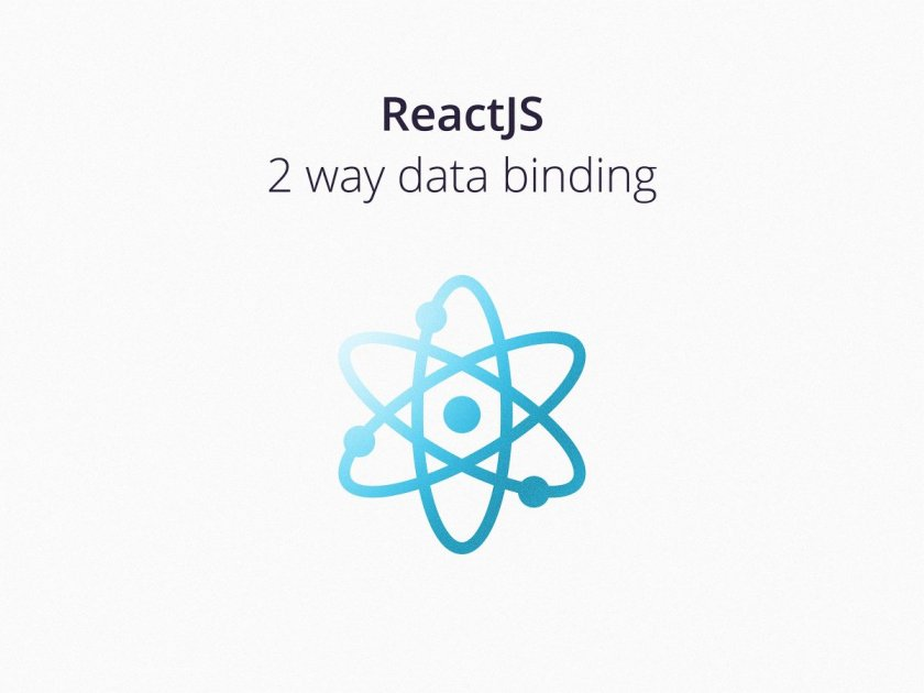 Is there a way to do 2 way data binding in #ReactJS? Should you even? 🤔 —