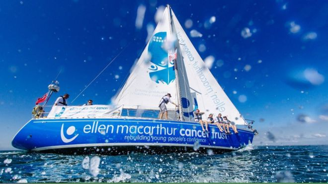 Ellen MacArthur Cancer Trust sailing challenge for cancer patients