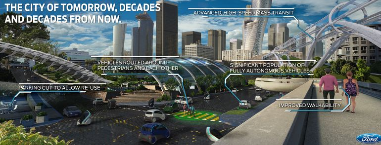 Ford sees autonomous vehicles as key cog of #smartcity   #IoT #smartcities