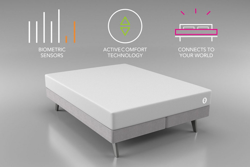 New smart bed watches while you sleep…in a non-creepy way   #Tech #News #IoT #CES2017