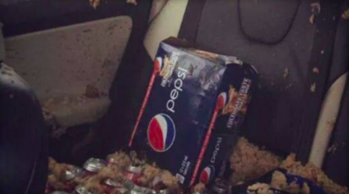 Why you shouldn't leave soda in your car when it's freezing outside