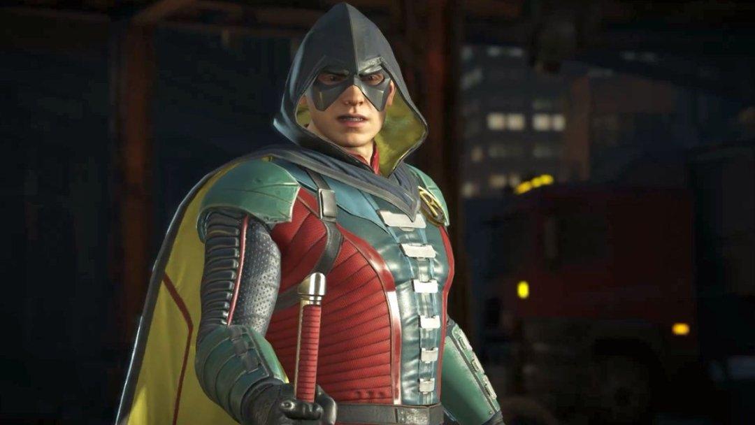 Injustice 2 Robin Gameplay Trailer 4
